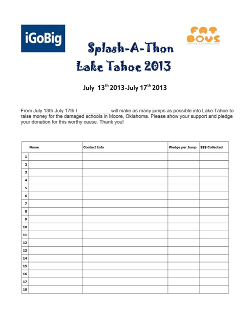 Pledge your donation now! Email me at meghan@shejumps.org to make a pledge!